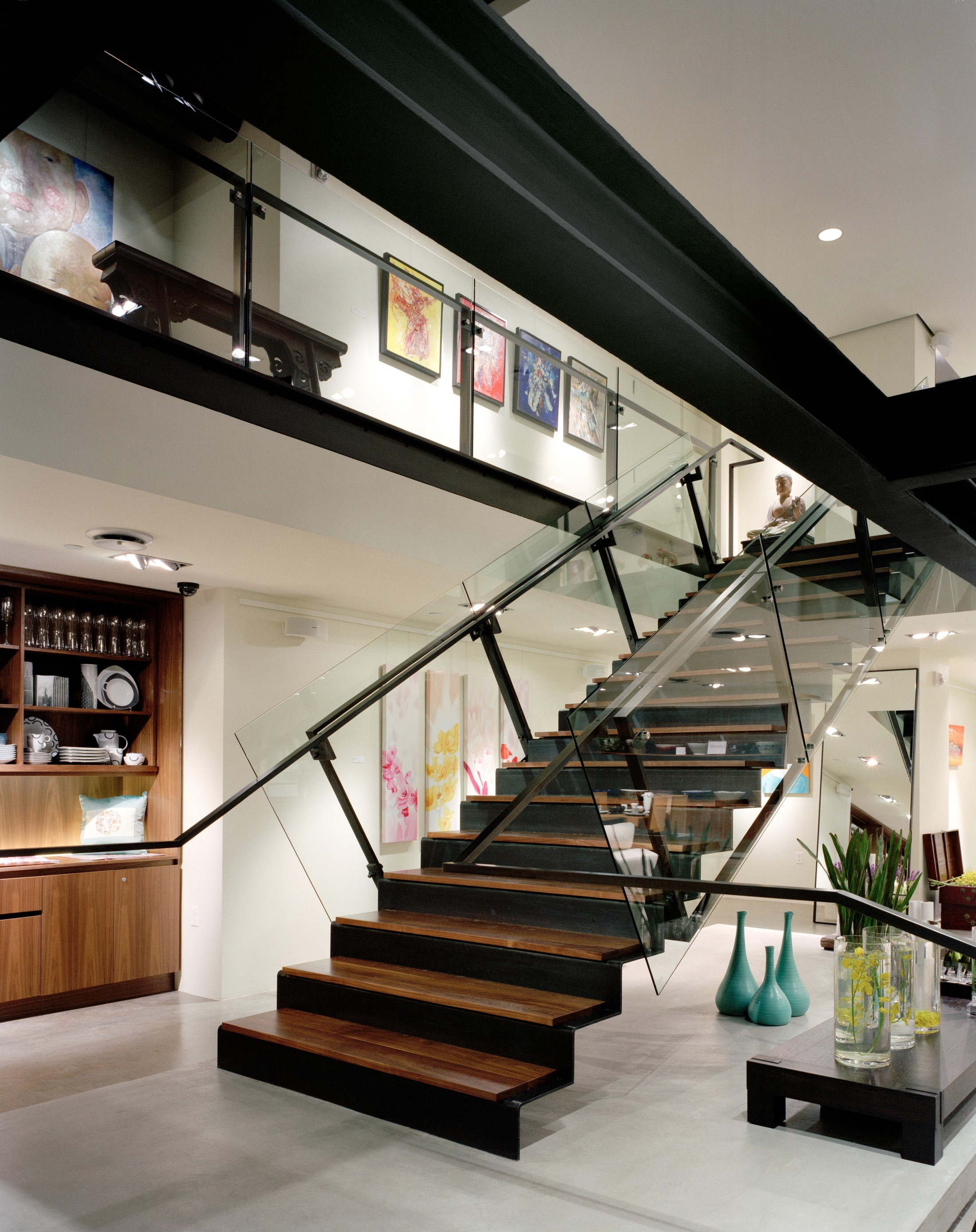 Alchemy interior stairs