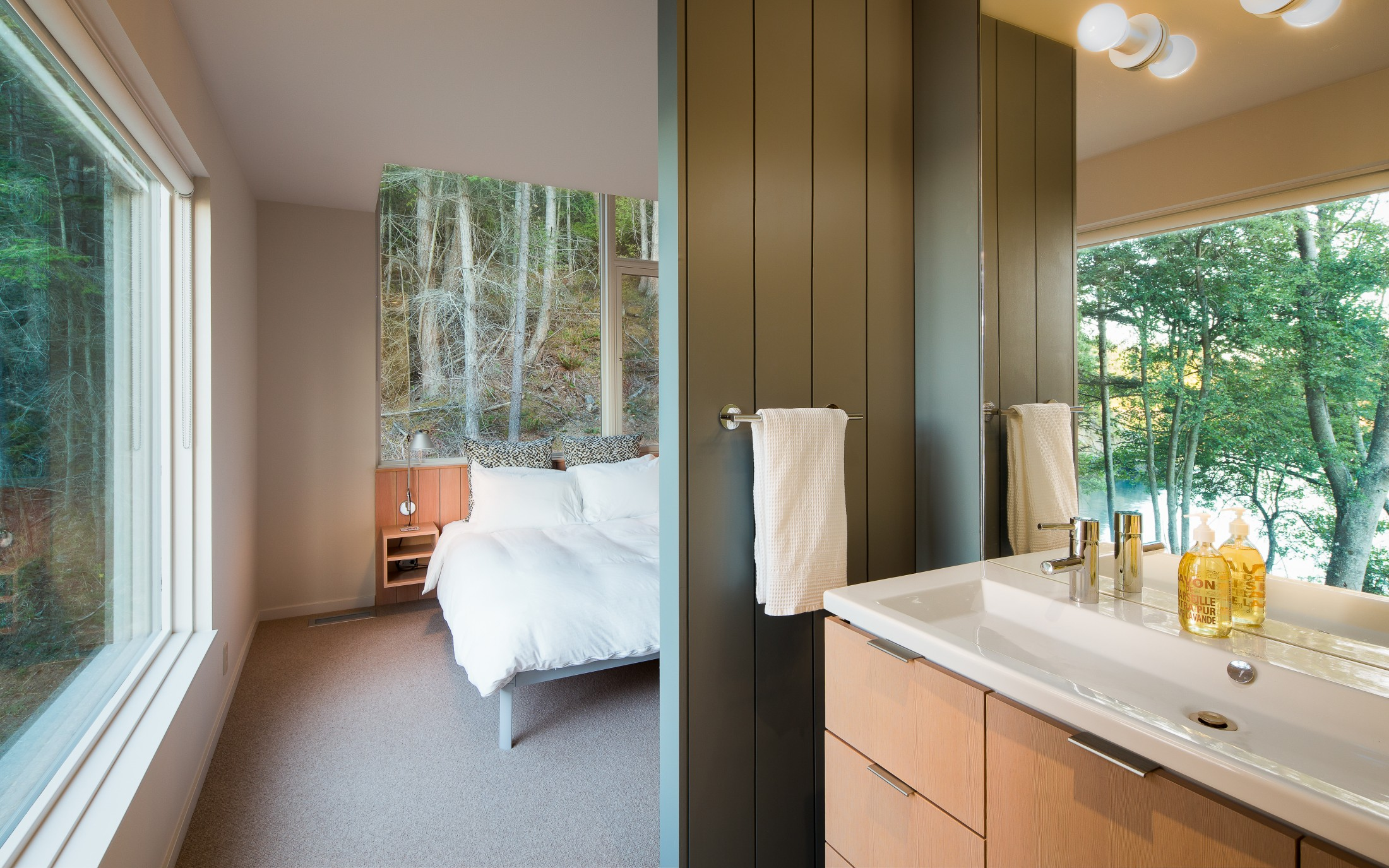 Lone madrone bedroom