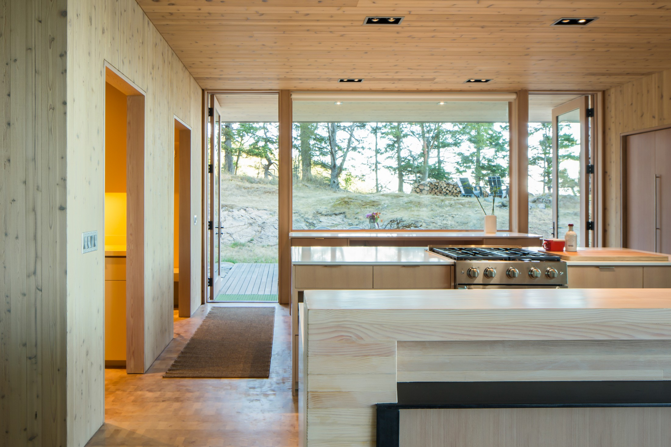 Lone madrone kitchen